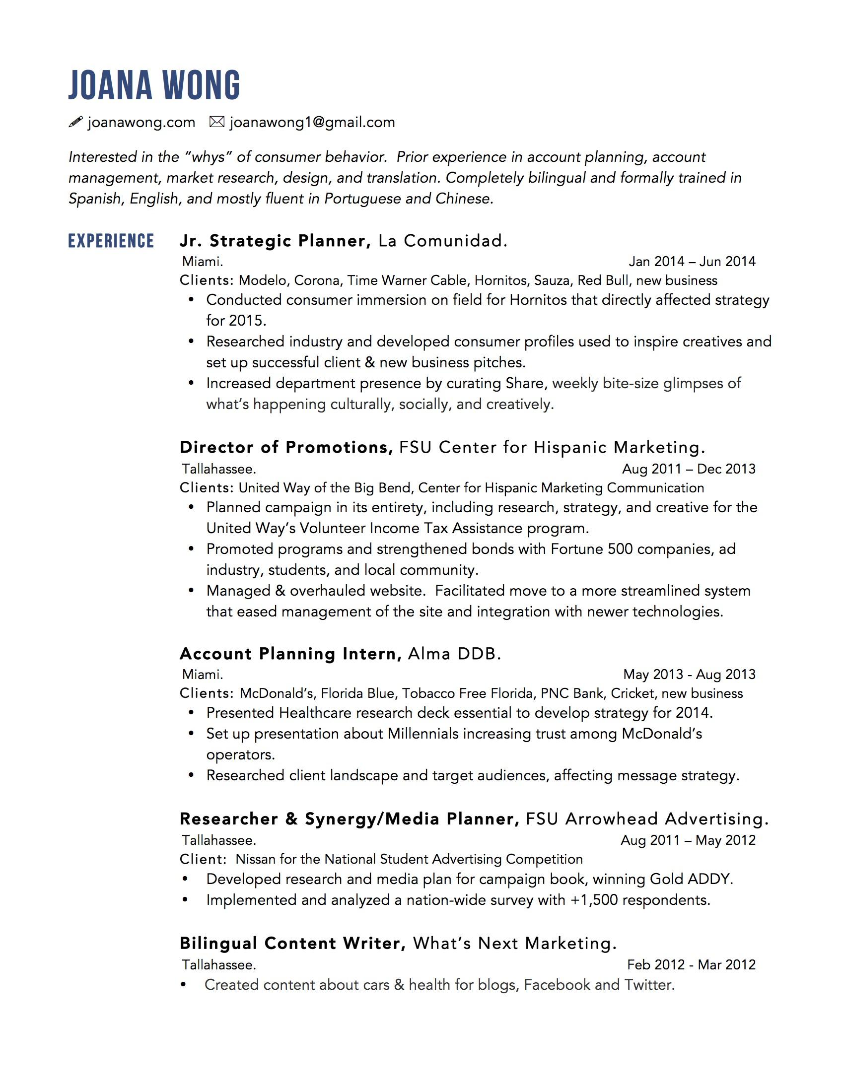 Account Manager Resume Examples   Best Resume Sample DigitalMarketer